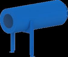 HCIS – Horizontal Cylindrical Inlet Silencer